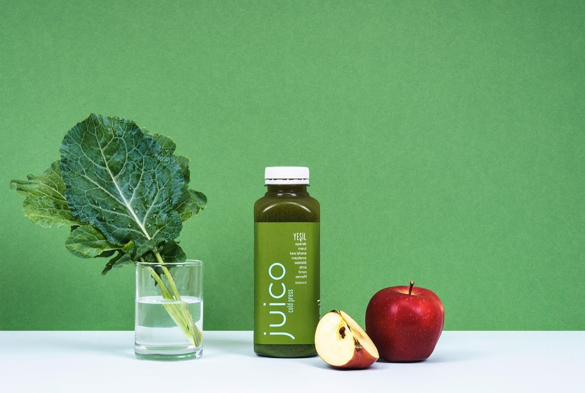 Juico Yeşil Sebze Suyu Detoksu İçeceği