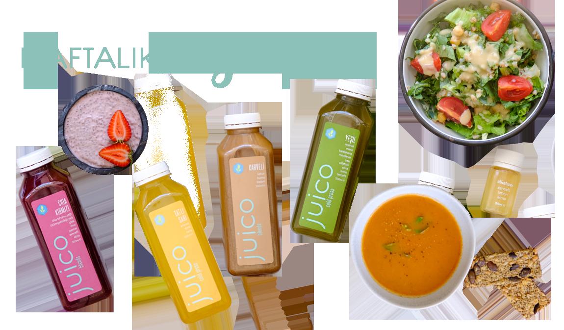 Juico Haftalık Diyet Paketi - 7 Gün